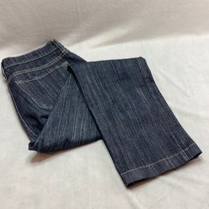 NYDJ Not you daughters jeans dark wash wide leg 10